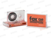 RTM FOX C-60 NORMAL BIAS CASSETTE TAPE (10 pack)
