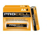 DURACELL PROCELL AA BATTERIES 4-Pack