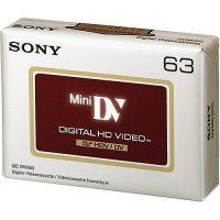 SONY Mini DV HD HI-DEFINITION 63 Minute 6+