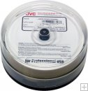 *NEW* JVC Blu-Ray BDR-R 25gb 6x White InkJet Hub Printable WaterShield 25 Pack