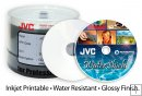 JVC (Taiyo Yuden) WHITE INK JET WATERSHIELD CD-R 50 PACK