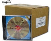 MAM-A 74min. Gold Thermal in Jewel Case (Price based on purchase of 500pcs. or more)