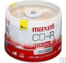 "Maxell (625156)"" Music Gold"" 32X CD-R 80 Min. 50pk."