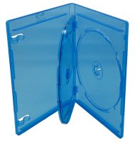 Triple Blu-Ray Cases with Blu-ray Logo - 12mm Standard