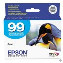 *FREE SHIPPING* Epson Cyan Ink Cartridge #99