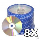 *FREE SHIPPING*SPIN-X DISC DVD-R 8X SILVER THERMAL- 500 Carton