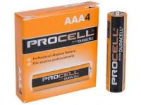 DURACELL PROCELL AAA BATTERIES 4-Pack