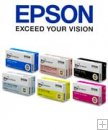Epson Ink set for PP-100 - 6 Colors (1 Cartridge of Each Color)