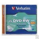 VERBATIM DVD-R 2X Rewritable