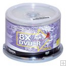 RITEK DVD-R 8X Silver Thermal, Blank 50 Pack