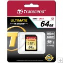 Transcend 64GB UHS-1 SDXC Memory Card (Speed Class 3) - TS64GSDU3