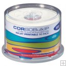 HHB CDR 50 Pack White Ink Jet 80Minute 700MB