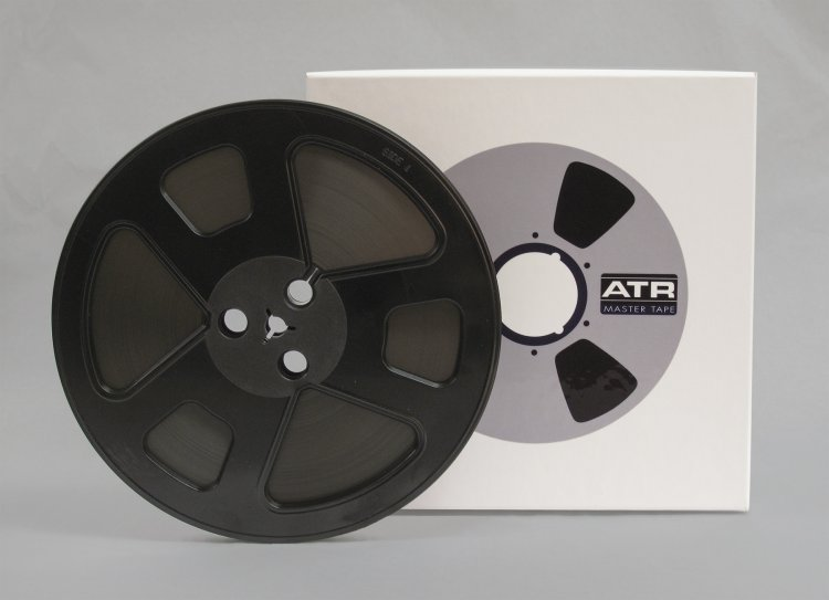 "ATR Studio Mastering Tape 1/4''x 1250 7"" Reel - Click Image to Close"