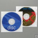 CD/DVD VINYL FELT SLEEVES w/FLAP(Price based on purchase of 1000pcs. or more)