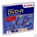 *ON SALE!* VERBATIM 94835 DVD-R 4.7GB 8X BRANDED W/ JEWEL 10PK.