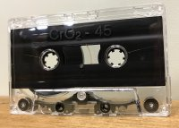 NRS Type-A C-45 High Bias Cassette Tape / 25-Pack *CLEAR ONLY* Classic SHAPE MK10 Shell !