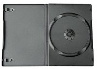Premium Black Single DVD Case 14mm * GREAT VALUE !