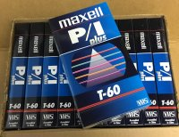 MAXELL T-60 PRO VHS TAPE / 10-Pack
