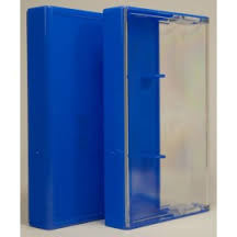 BLUE NORELCO CASSETTE BOX - Click Image to Close