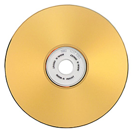 MAM-A Gold 80min. 700MB CD-R Gold, Gold InkJet 100pk wrap ($2.15ea.)