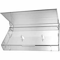 CLEAR NORELCO CASSETTE BOX