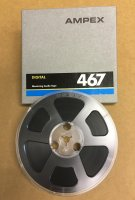"AMPEX 467 1/4"" x 1,200' 5"" Plastic Reel - Digital Tape"